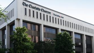 Charlotte Observer bldg