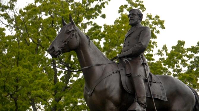 Lee, Robert E. statue at Gettysburg