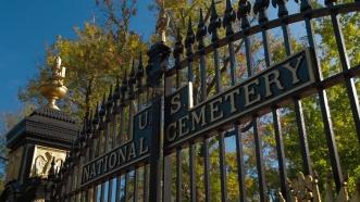 Shiloh cemetery gate